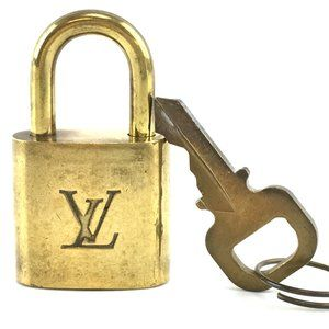 Louis Vuitton Gold Keepall Speedy Lock Key Set#305